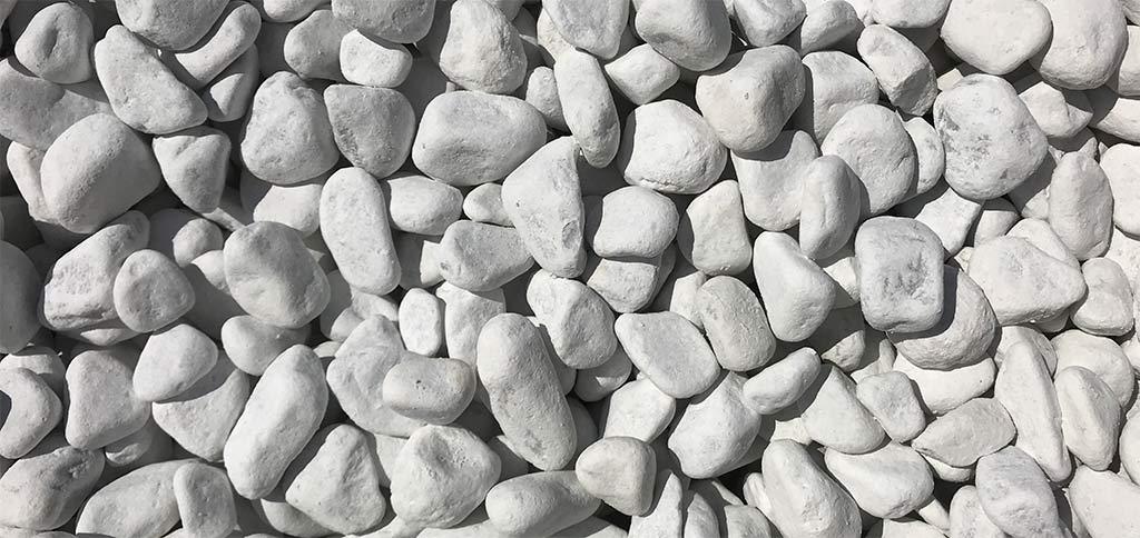 Galets de marbre de Carrare 25/40