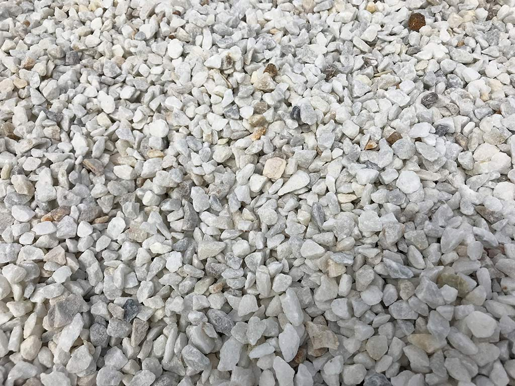 Petit gravier de marbre pur